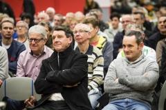 PRESENTATION DE L'EQUIPE DE DN1 SOJASUN ESPOIR ACNC, SAISON 2018. NOYAL-CHATILLON SUR SEICHE, FRANCE, LE 19 JANVIER 2018. PHOTO: BERNARD LE BARS