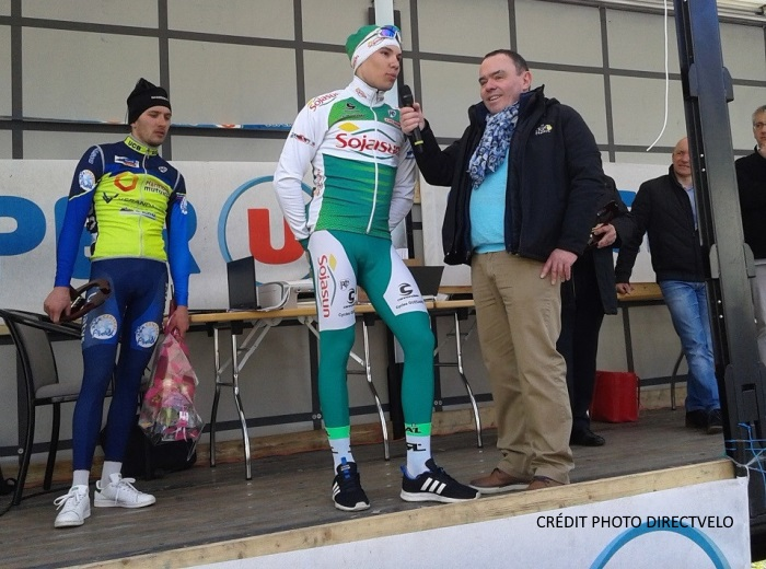 Clément Davy vainqueur au grand prix U