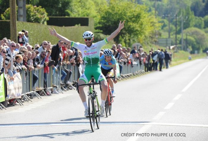 Adrien LAGREE remporte les Boucles Sérentaises