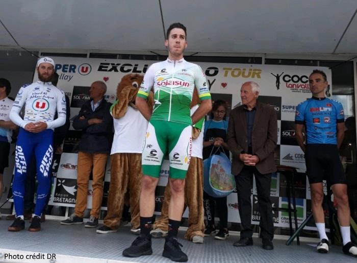 Stylianos FARANTAKIS remporte le tour du  canton de LANVALAY