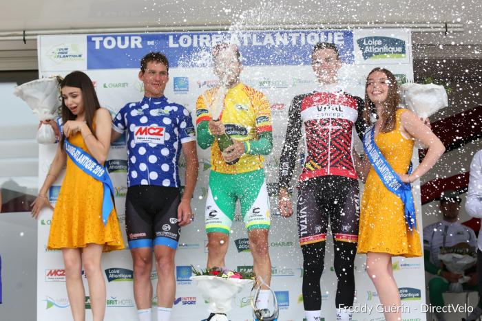 Stylianos vainqueur du tour de Loire Atlantique