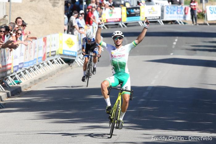 Willy ARTUS vainqueur de la 4ème étape du Tour des 2 Sèvres