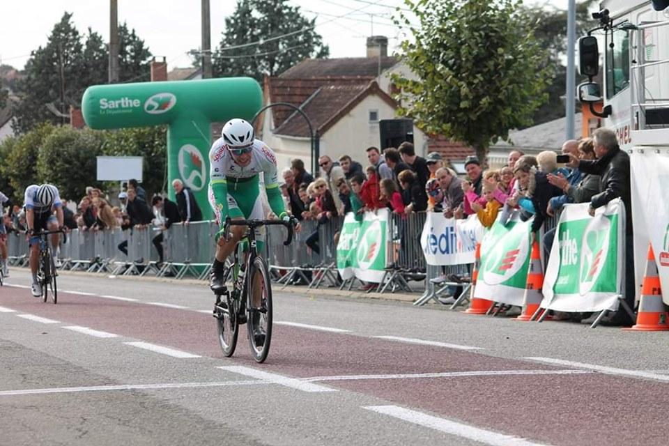 Mael GUEGAN, une superbe 2ième place sur PARIS CONNERRE