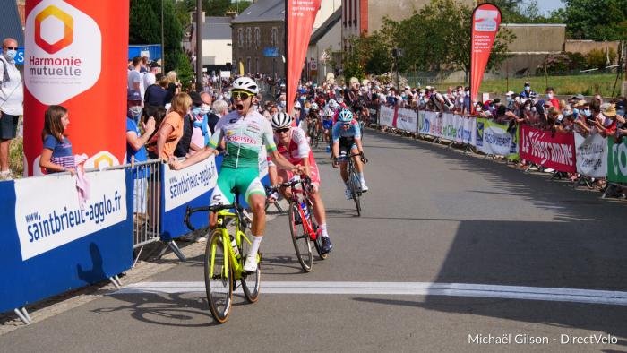 Jean Louis LE NY gagne la 1ère étape de L'Agglo Tour