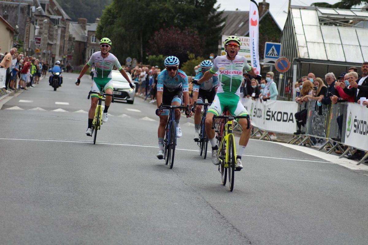 Tom Mainguenaud gagne la Fernand DUREL