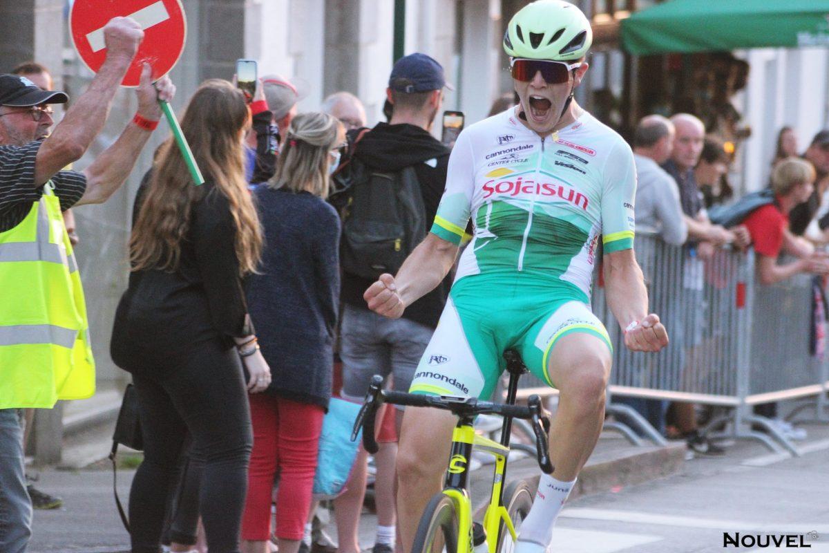 Brice Crublet vainqueur à Argentré du Plessis
